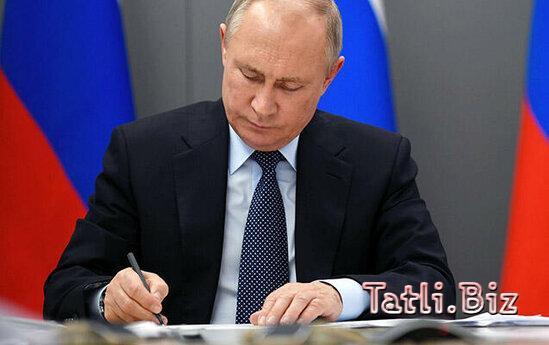 Putin iki azərbaycanlını mükafatlandırdı